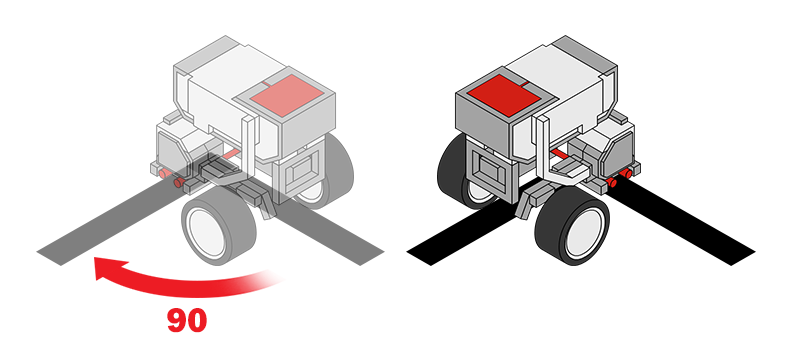 EV3 Trainer: Turning 3