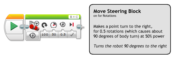 EV3 Trainer: Turning 5